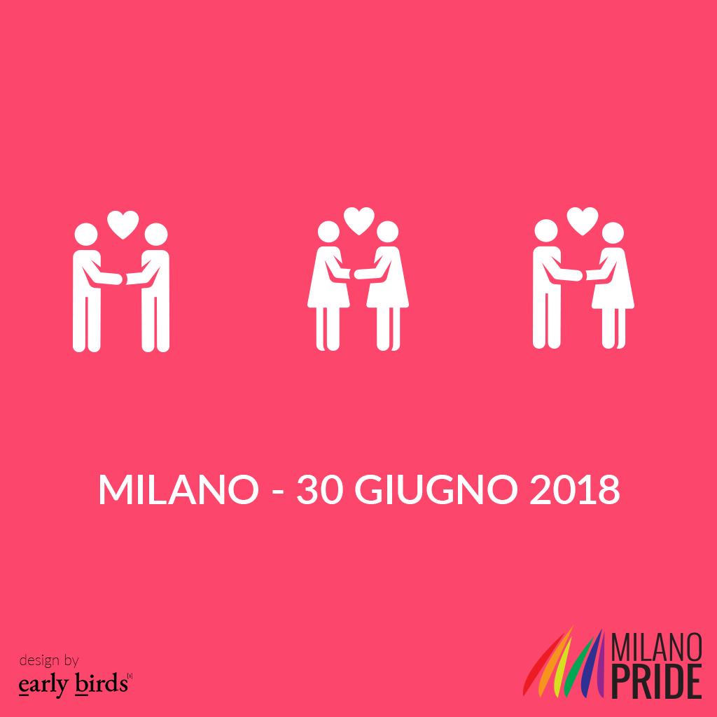 Milano pride Early Birds Adv Sponsor tecnico Milano Pride 2018